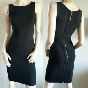 Bebe Classy Black dress zipper XXS 0